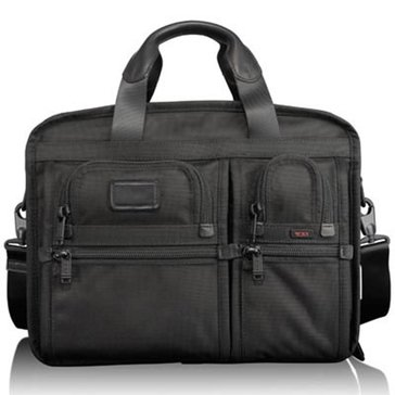 Tumi Alpha Business Expandable Organanizer Computer Briefcase