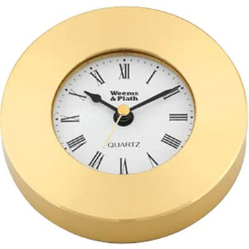 Weems & Plath Brass Chart Weight Clock 610500