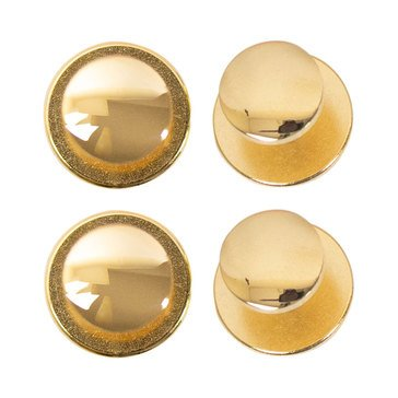 Shirt Studs Gold Plated SET of 4