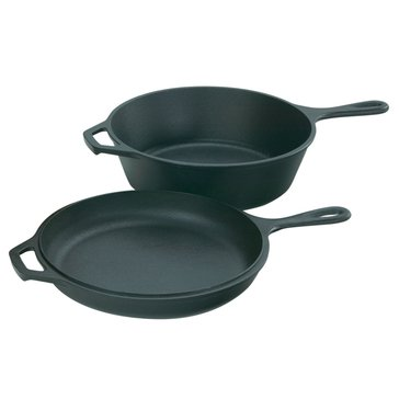 Lodge 3.2-Quart Cast Iron Combo Cooker