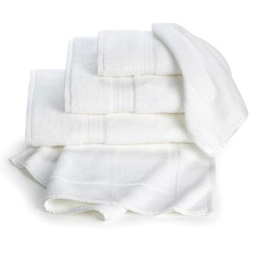 Gold Collection Wash Cloth, White
