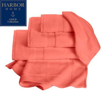 Gold Collection Bath Rug, Coral