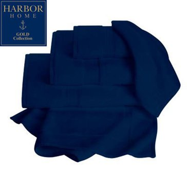 Gold Collection Bath Towel, Navy