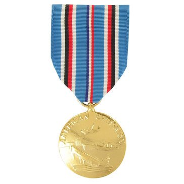 Medal Large Anodized American Campaign