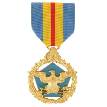 Medal Large Anodized Defense Distinguished Service