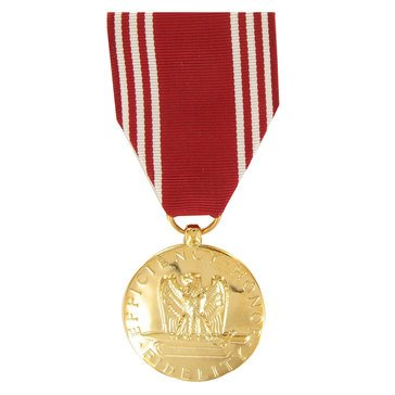 Medal Large Anodized USA Good Conduct