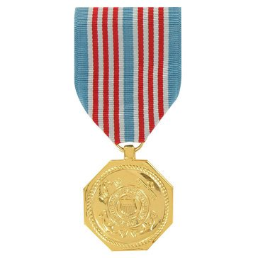 Medal Large Anodized USCG