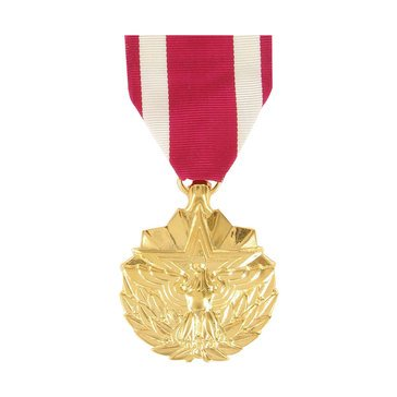 Medal Large Anodized Merit Service