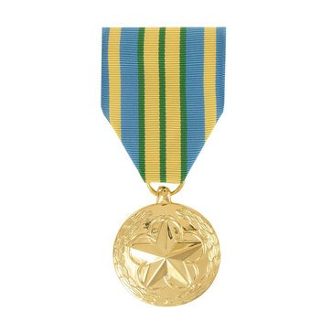 Medal Large Anodized Outstanding Volunteer Service