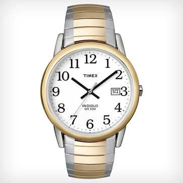 Timex Men's Easy Reader Two-Tone Expansion Band Watch, 37mm