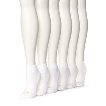Hue Women's 6 Pack Quarter Top Socks
