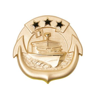 Warfare Badge Full Size SM CRAFT OFF  Gold