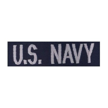 Navy Coverall US Navy Tape Silver