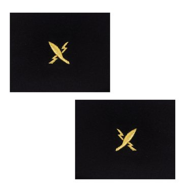 Sleeve Device in Gold on Blue for CWO Cryptologic Technician
