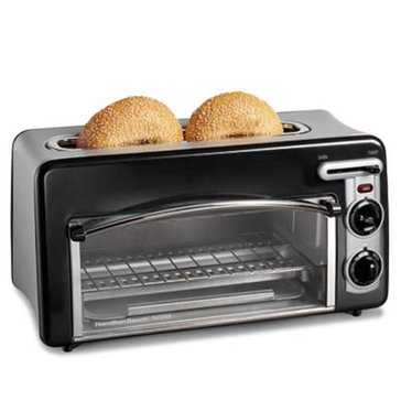 Hamilton Beach Toastation Toaster & Oven - Black (22708)