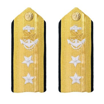 Men's Hard Boards RADM Upper (2 Star) Supply Corps