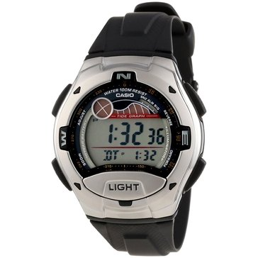 Casio Men's Sport Digital Watch W753-1V, Black