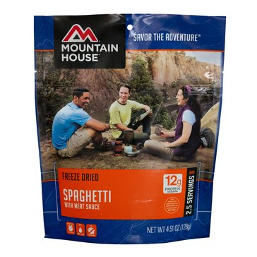 Mountain House Spaghetti with Meat Sauce