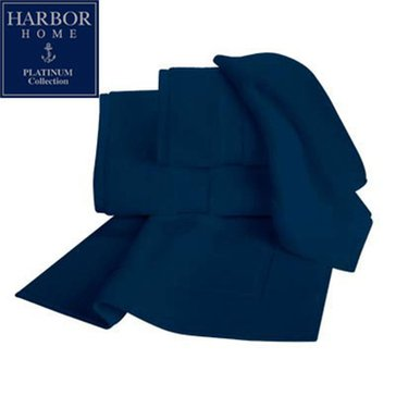 Platinum Collection Hand Towel, Navy