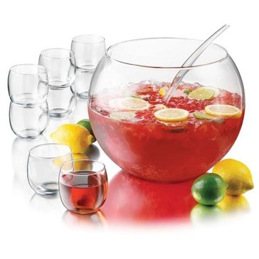 Libbey 10-Piece Punch Bowl Set
