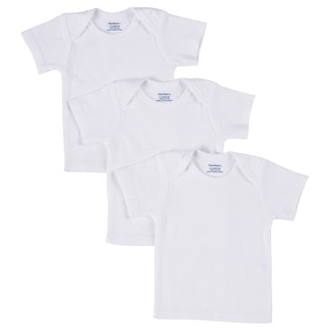 Gerber Newborn 3-Pack Pull On Shirts
