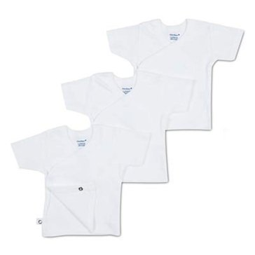 Gerber Newborn 3-Pack Side Snap Shirts