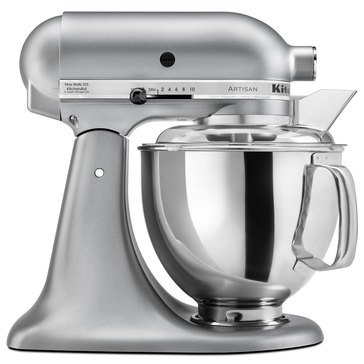 KitchenAid Artisan Series 5-Quart Tilt-Head Stand Mixer - Silver Metallic (KSM150PSSM)