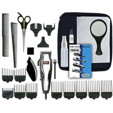 Wahl Deluxe Chrome Pro 25-Piece Hair Clipper Kit