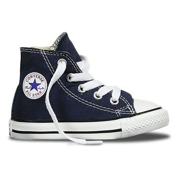 Converse Chuck Taylor All Star Hi Top Toddler Boys' Basketball Shoe Navy