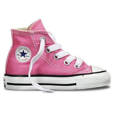 Converse Girl's Chuck Taylor All Star Hi-Top Basketball Shoe (Infant/Toddler)