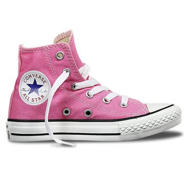Converse Chuck Taylor All Star Hi Top Girls' Basketball Shoe Pink