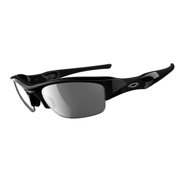 Oakley Standard Issue Men's Flak Jacket Sunglasses, Jet Black/Black Iridium 63mm