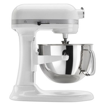 KitchenAid Professional 600 Series 6-Quart Bowl-Lift Stand Mixer - Gloss White (KP26M1XWW)
