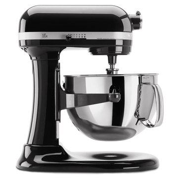 KitchenAid Professional 600 Series 6-Quart Bowl-Lift Stand Mixer - Gloss Black (KP26M1XOB)