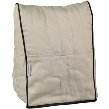 KitchenAid Cloth Cover For Stand Mixers - Khaki/Black (KMCC1KB)