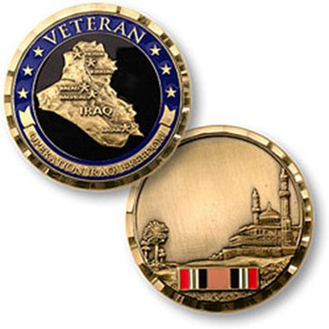 Opertion Iraqi Freedom Veteran Coin