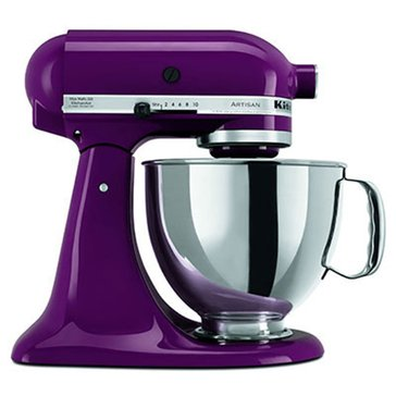 KitchenAid Artisan Series 5-Quart Tilt-Head Stand Mixer - Boysenberry (KSM150PSBY)