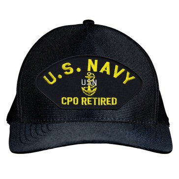 Eagle Crest USN CPO Retired Hat