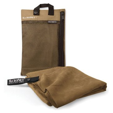 Mcnett Micronet Towel Large - Brown