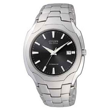 Citizen Men's Eco-Drive Titanium Watch, 39mm
