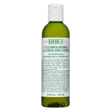 Kiehl's Cucumber Herbal Alcohol-Free Toner 16.9oz
