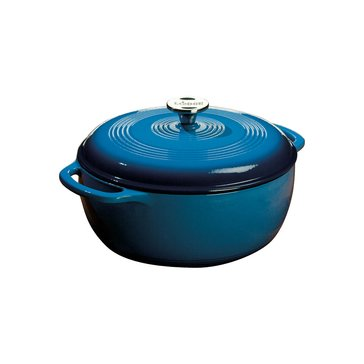 Lodge 6-Quart Enameled Cast Iron Dutch Oven