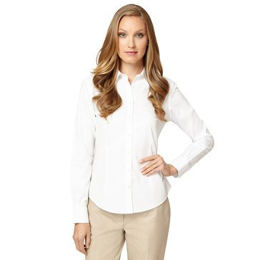 Brooks Brothers Women's Fitted Shirt in White