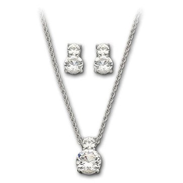 Swarovski Brilliance Necklace and Earring Set