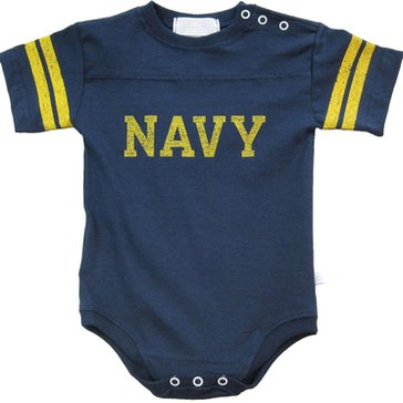 Navy Vine Diaper Shirt