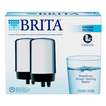 Brita On Tap Water Filtration System Replacement Filters, 2-Pack (42618)