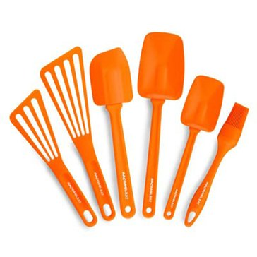 Rachael Ray 6-Piece Tool Set, Orange