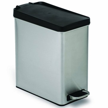 simplehuman 10 Liter Profile Brushed Stainless Step Can