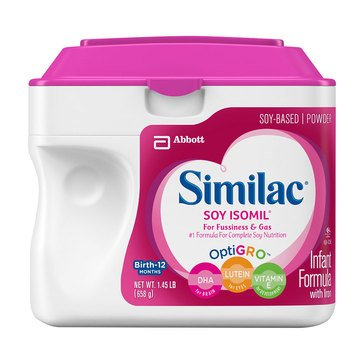 Similac Sensitive Isomil Soy Powder 1.45lbs