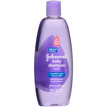 Johnson's Baby Shampoo with Natural Lavender 15oz